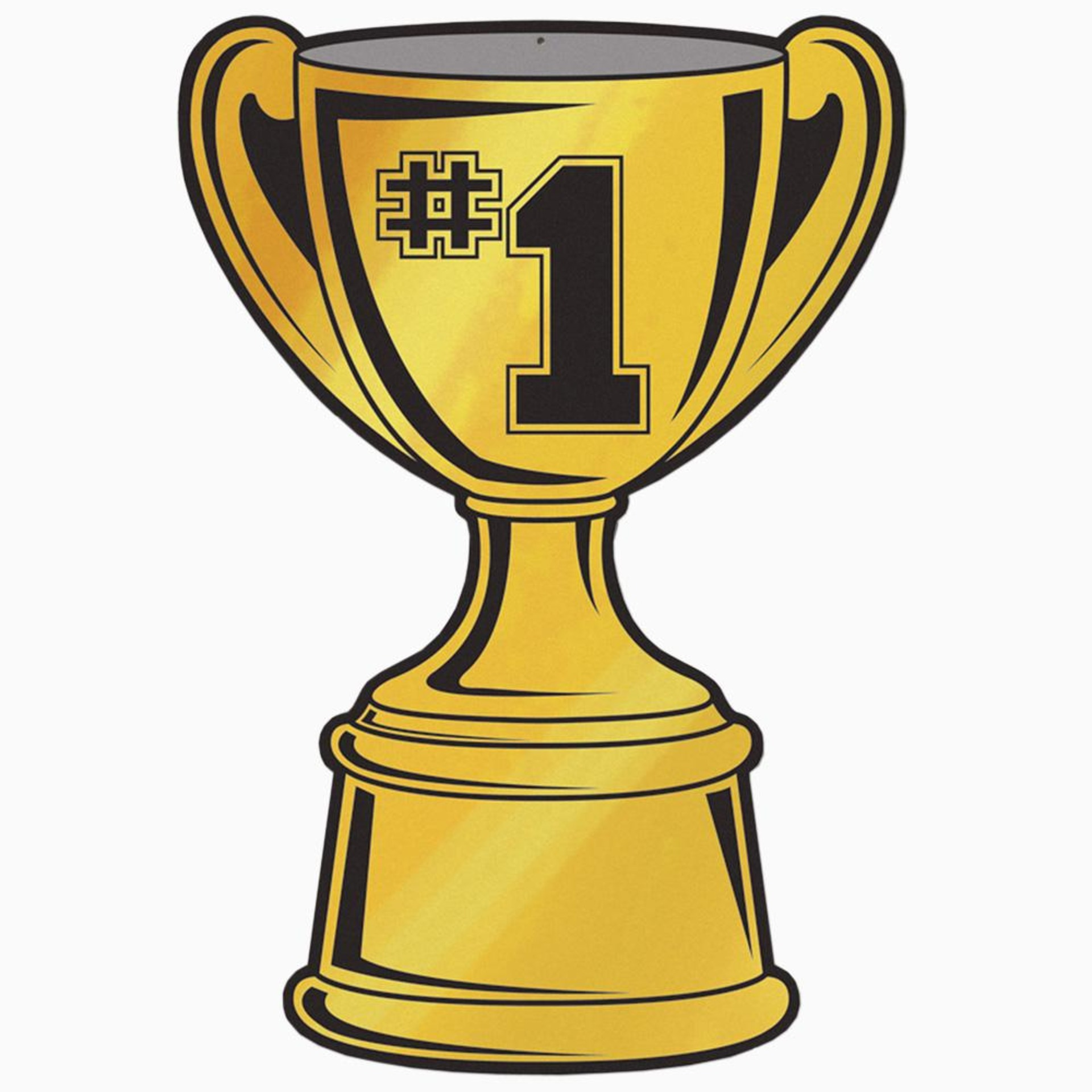 1 Trophy Clipart Free Clipart Images