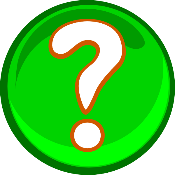 A Green Question Mark Clip Art Vector Clip Art Online Royalty