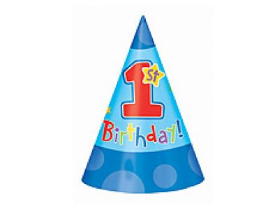 A One Derful Birthday Quot Boy 1st Birthday Party Hats Party Time