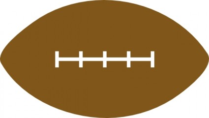 American Football Clip Art Free Vector In Open Office Drawing
