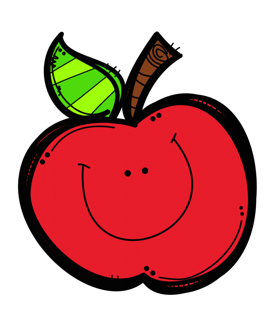 Apple Happy For Shared Reading Poem Clipart Free Clip Art Images