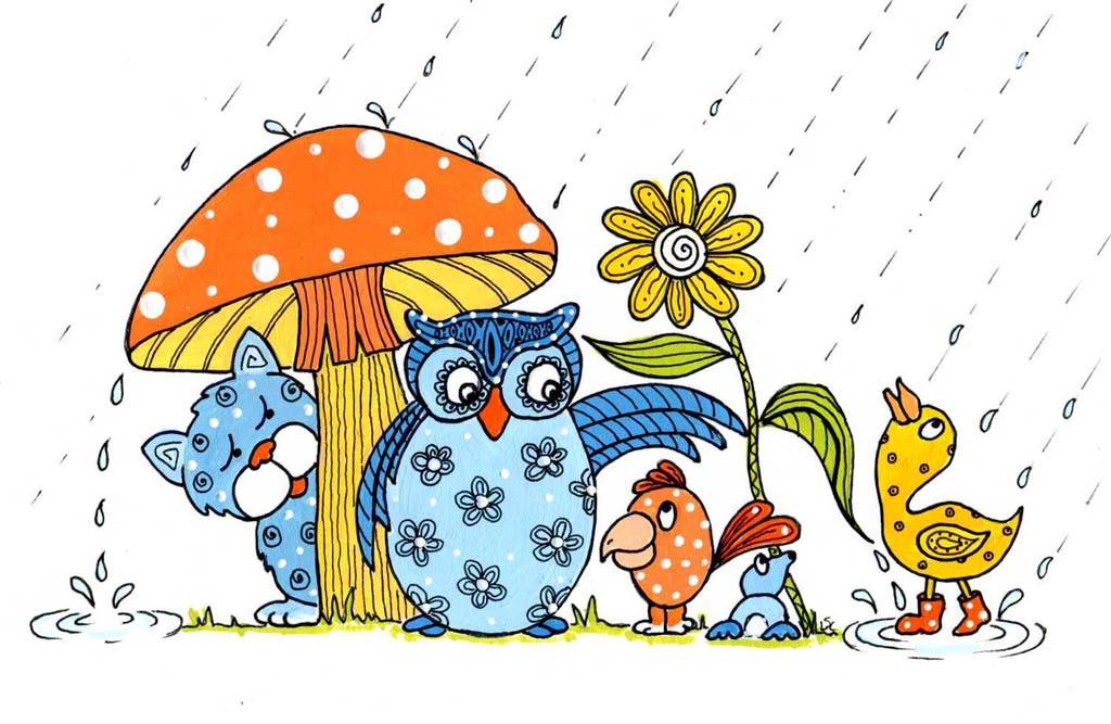 April Showers Bring May Flowers Clip Art Free