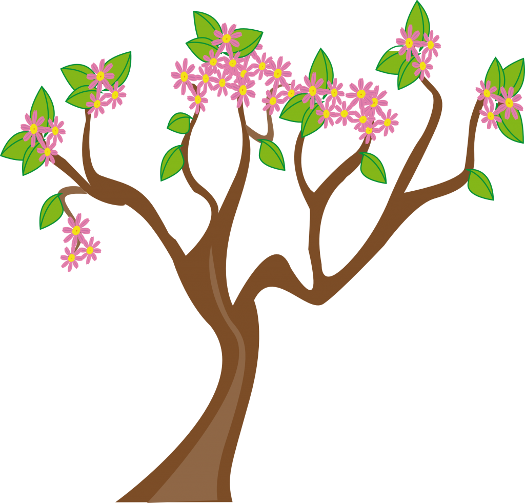 April Spring Clipart