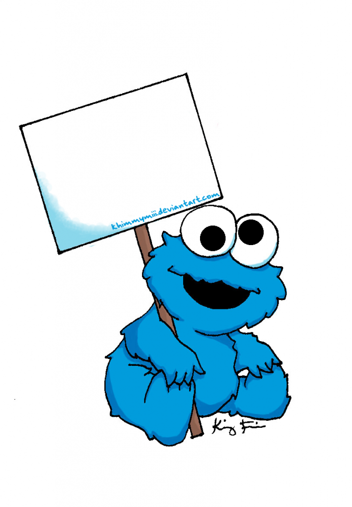 Baby Cookie Monster Signkhimmymiii Clipart Free Clip Art Images