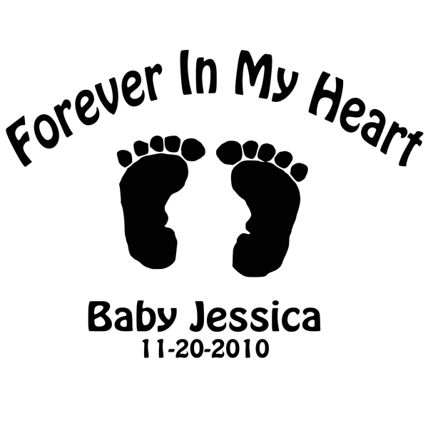 Baby Feet Heart Clipart Images
