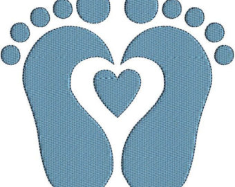 Baby Feet New Arrival Babi Es Footprints Mommy Instant Clipart