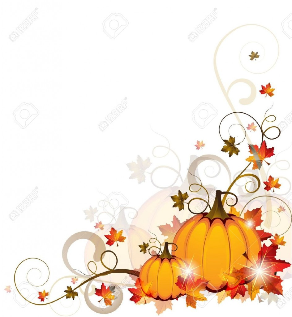 Background With Pumpkins Royalty Free Cliparts Vectors And Stock