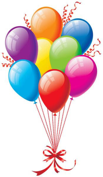 Balloons Clip Art Borders Graphics Pinterest Balloon