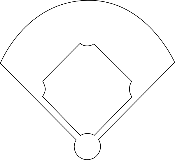 Baseball Diamond Printable