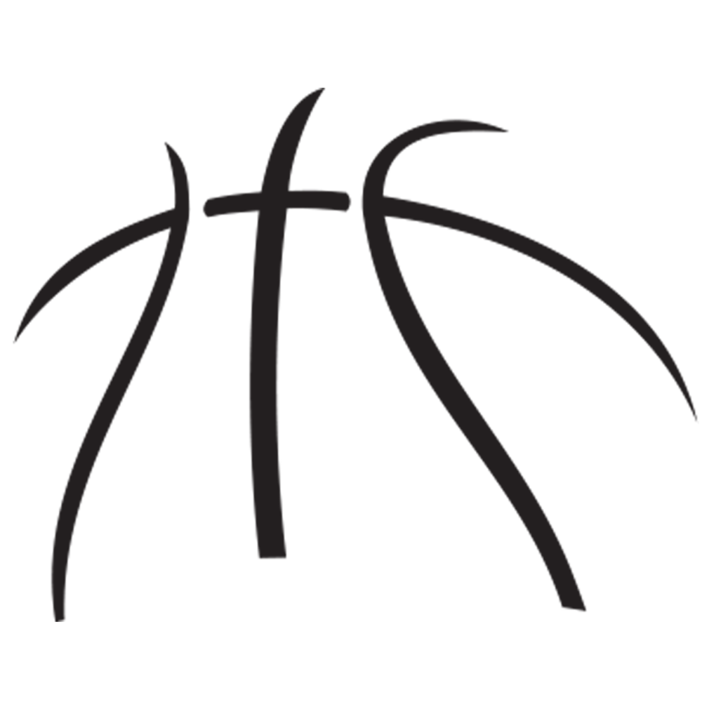 Basketball Black And White Clipart Free Clip Art Images