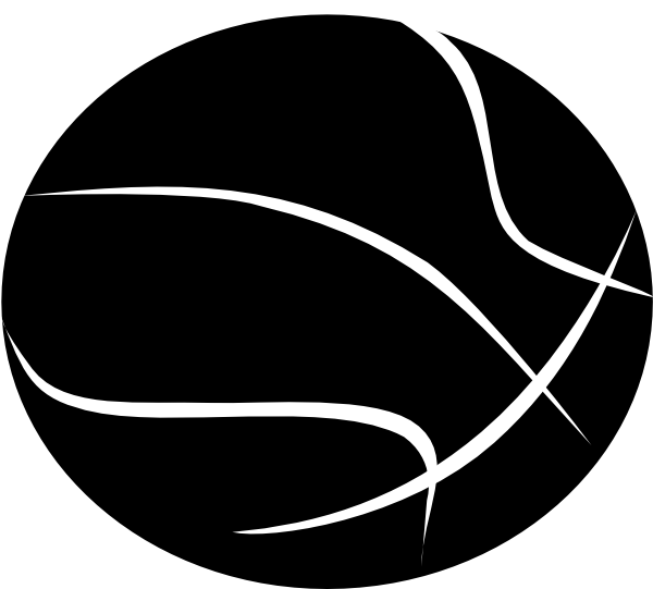 Basketball Clipart Black And White Hvgj