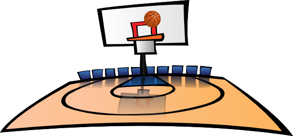 Basketball Court Clipart Free Clipart Images