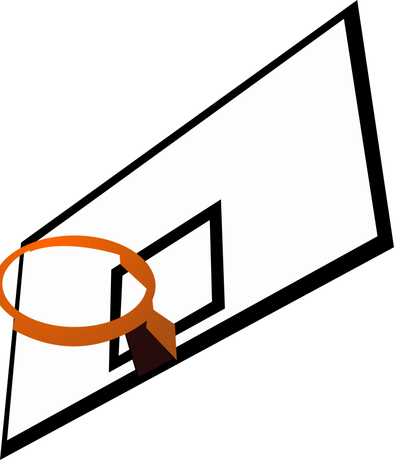 Basketball Court Clipart
