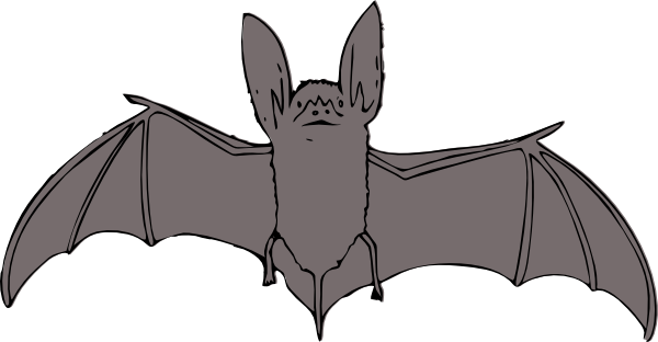 Bat Clip Art Free Vector 4vector