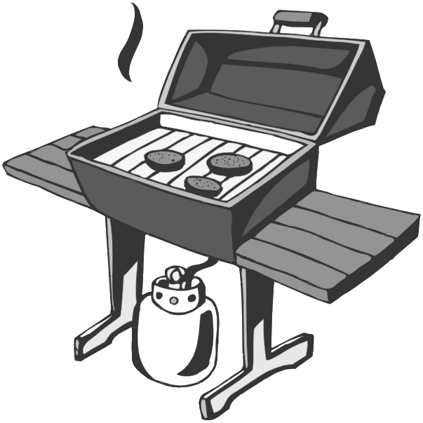 Bbq Grill Clipart Photo