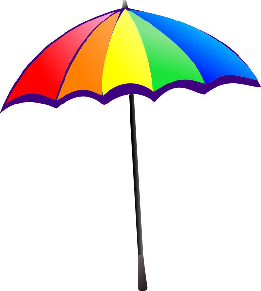 Beach Umbrella Clip Art