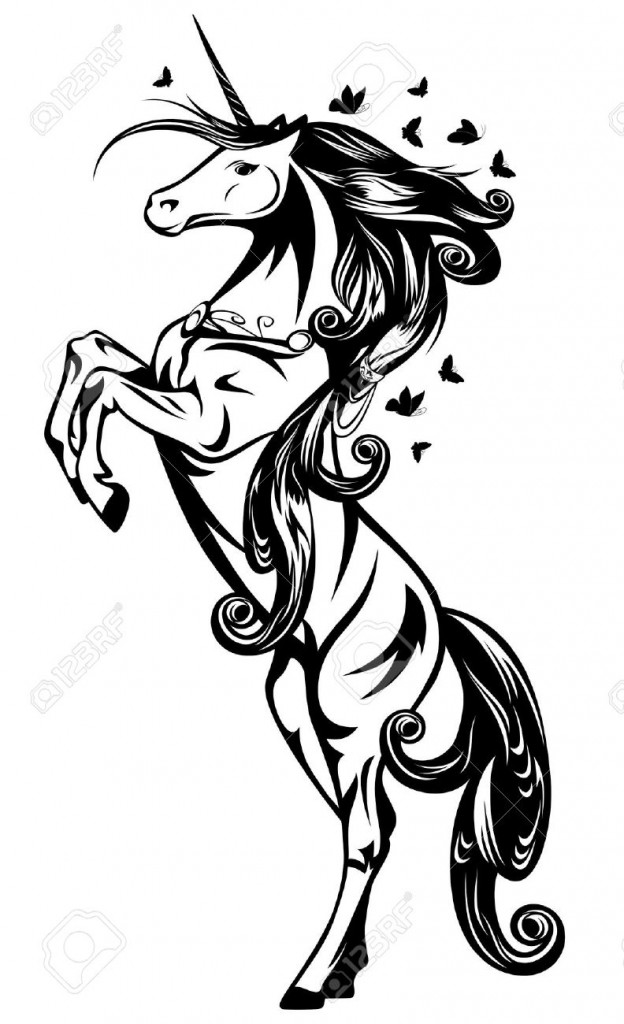 Unicorn Outline Clipartion Com
