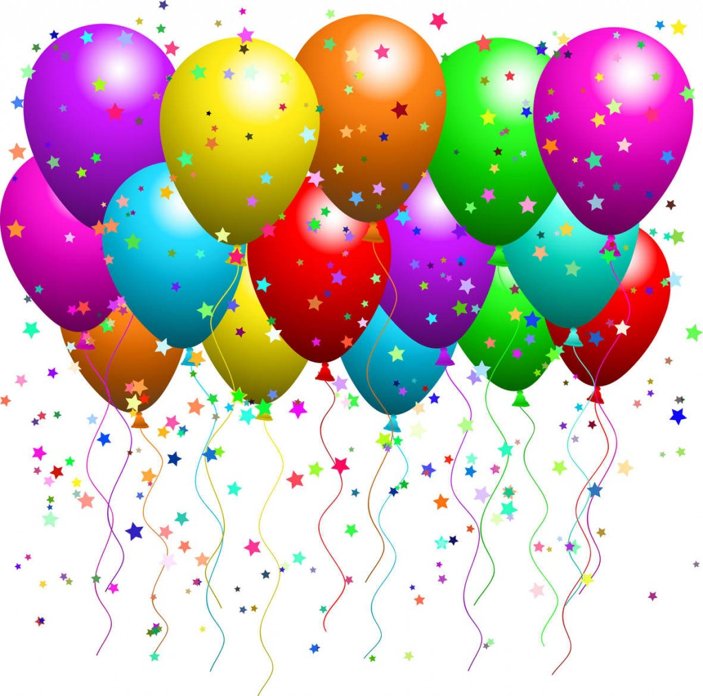Birthday Balloons And Cake Clip Art And Images Download Free