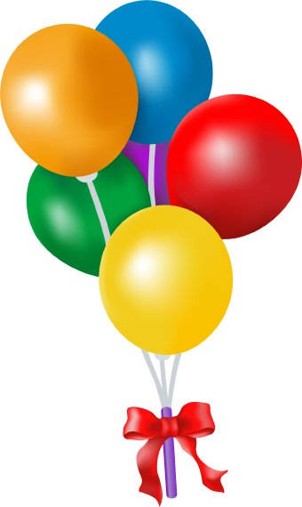 Birthday Balloons New Hd Template Mages
