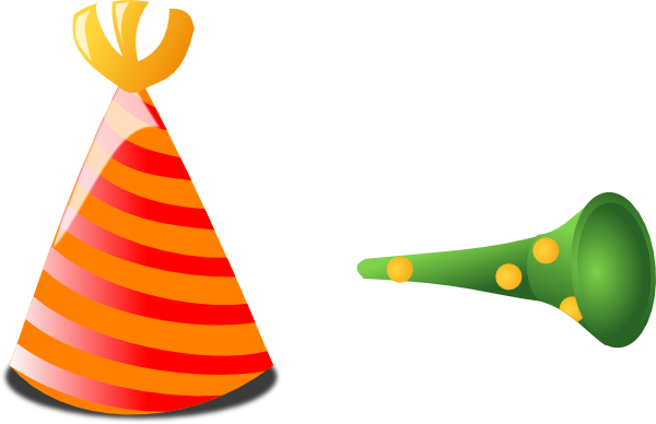 Birthday Hat And Horn Clip Art At Vector Clip Art