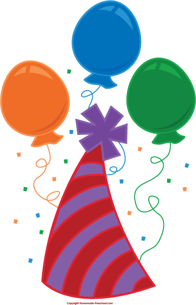Birthday Hat Clipart Free Clipart