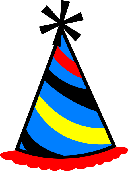 Birthday Party Hat Transparent Images