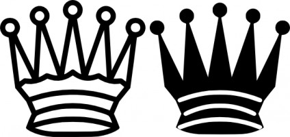 Black And White Clip Art Crown Free Vector For Free Download About
