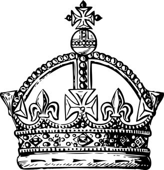 Black And White Crown Quoteko
