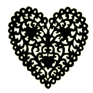 Black And White Heart Clip Art Clipart Free Clipart