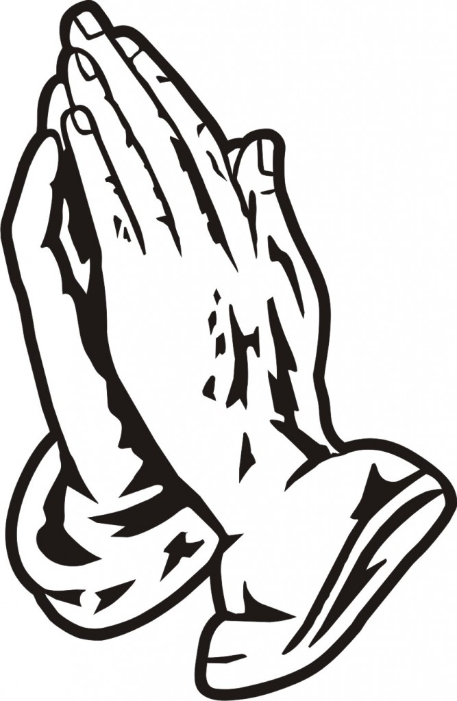 Black Praying Hands Clipart Free Clipart Images