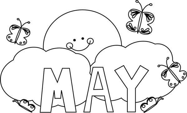 Coloring Pages For Month Of March