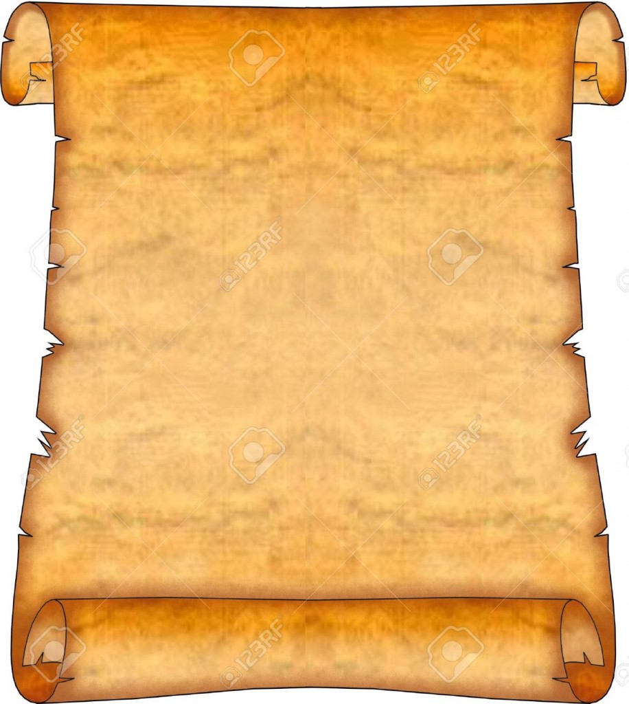 Blank Ancient Scroll Stock Photo Picture And Royalty Free