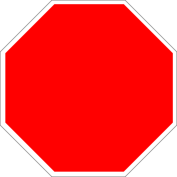 Blank Stop Sign Clipart Free Clipart Images