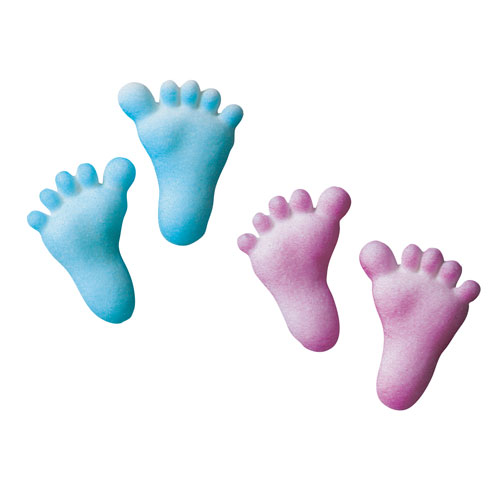 Blue Baby Feet Clipart Free Clip Art Images