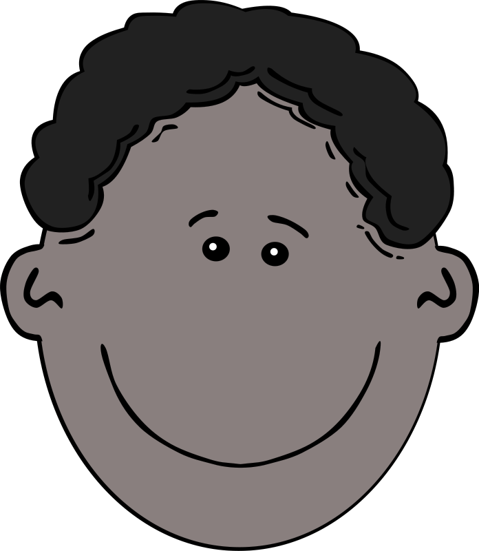 Boys Cartoon Faces Clip Art Png