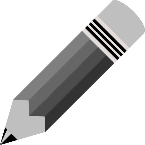 Broken Pencil Black And White Clipart Free Clip Art Images