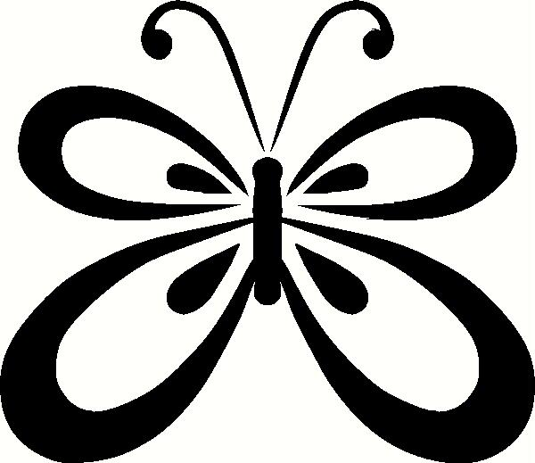 Butterfly Outline 3