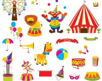 Carnival Clipart Etsy Uk