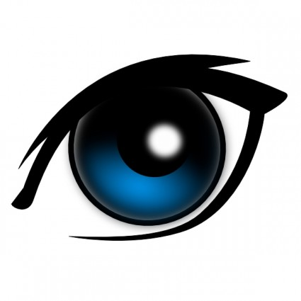 Cartoon Eye Clip Art Free Vector In Open Office Drawing