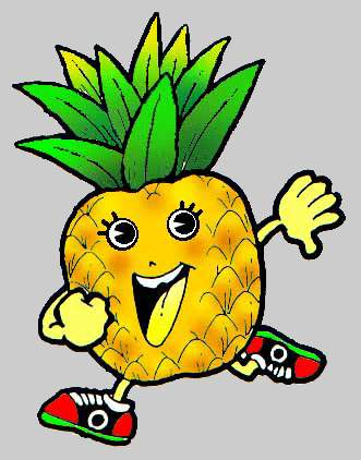 Cartoon Pineapple Clipart Free Clip Art Images