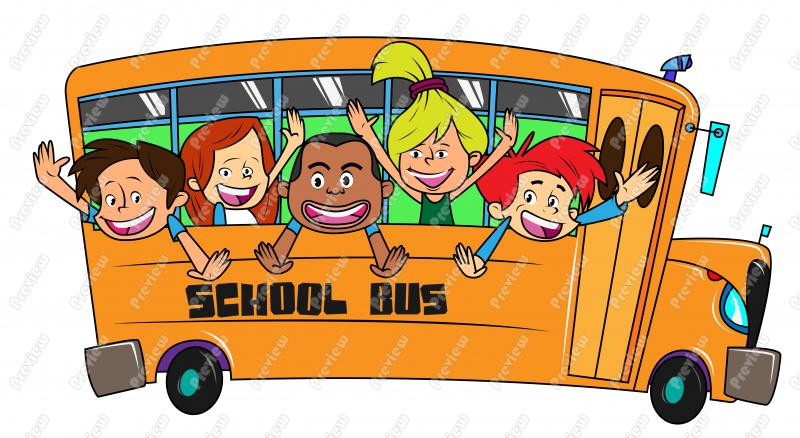 Cartoon School Bus Clipart Free Clip Art Images