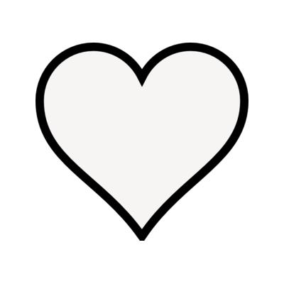 Clip Art Heart Outline Free Clipart Images