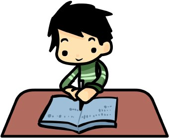 Clip Art Of Speaking Reading And Writing Clipart