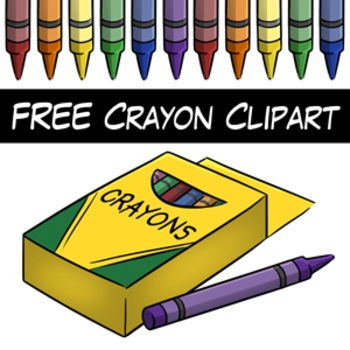 Clip Art On Pinterest Crayons Digital Papers And Colorful Animals