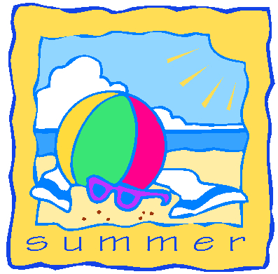 Clip Art Summer Vacation