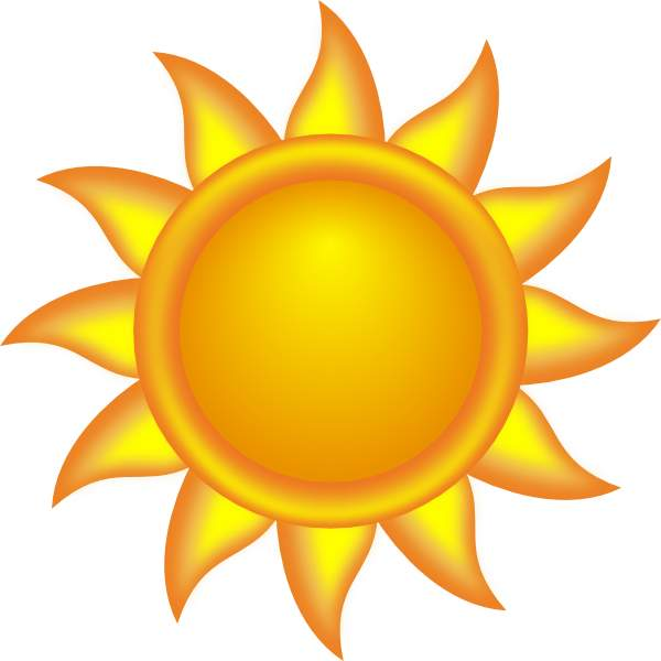 Best Sun Clipart #1610 - Clipartion.com