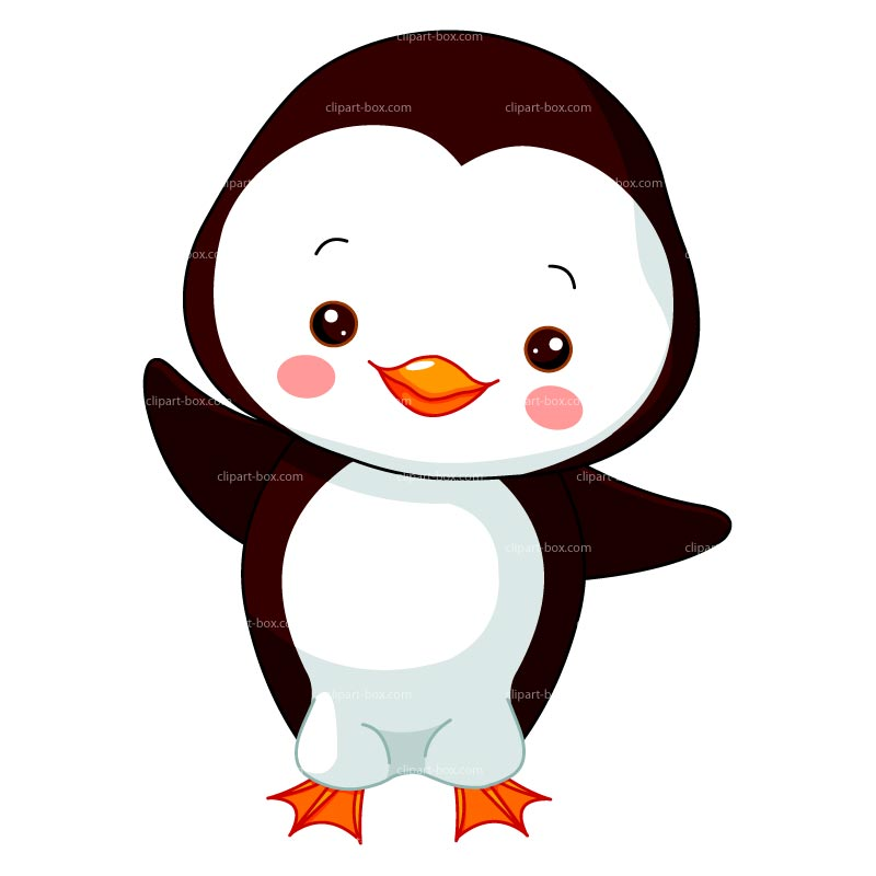 Clipart Baby Penguin Royalty Free Vector Design