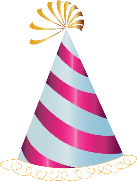 Clipart Birthday Hat