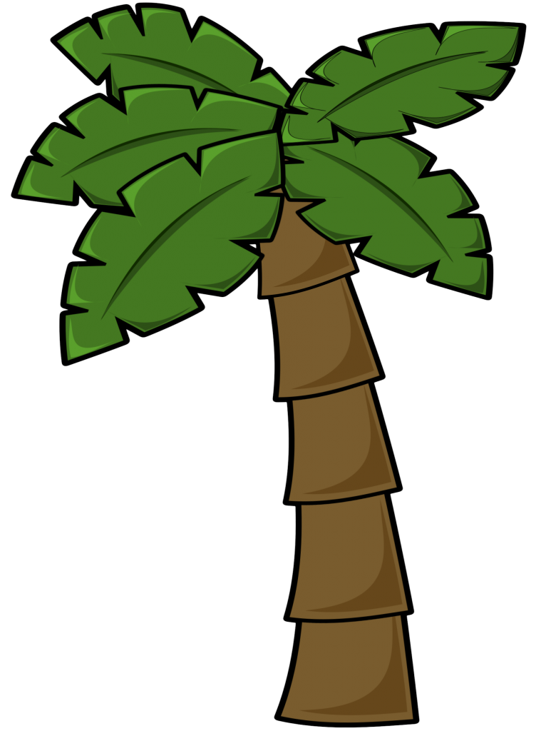 Clipart Brighter Palm Tree
