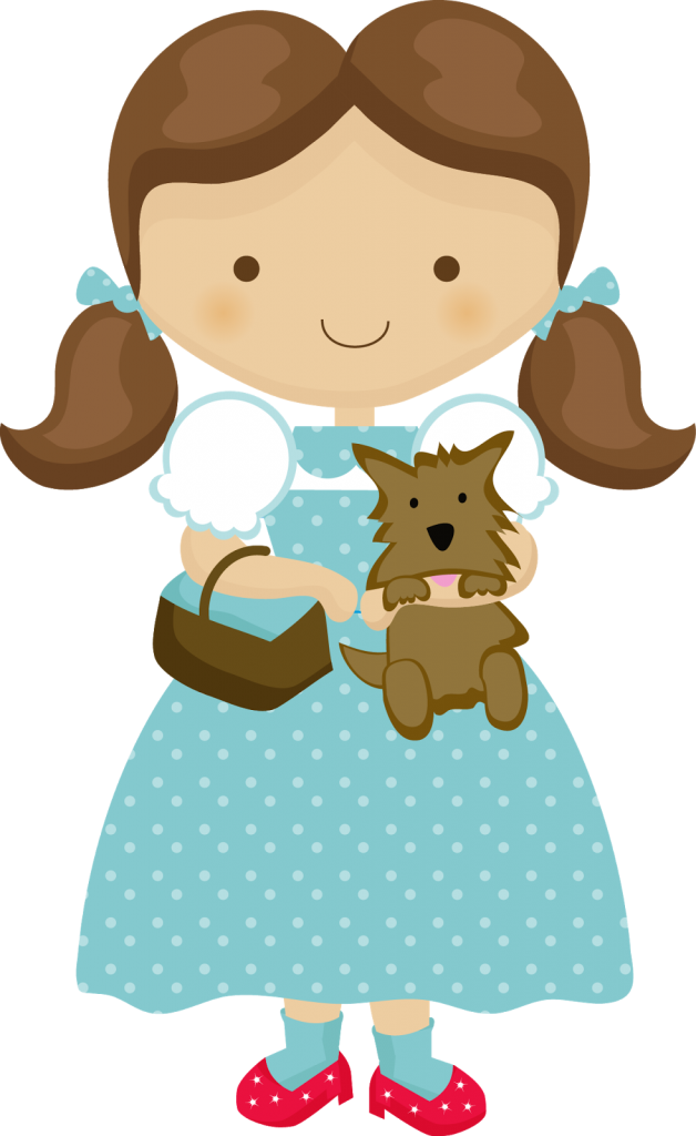 Clipart Dorothy Of Wizard Of Oz